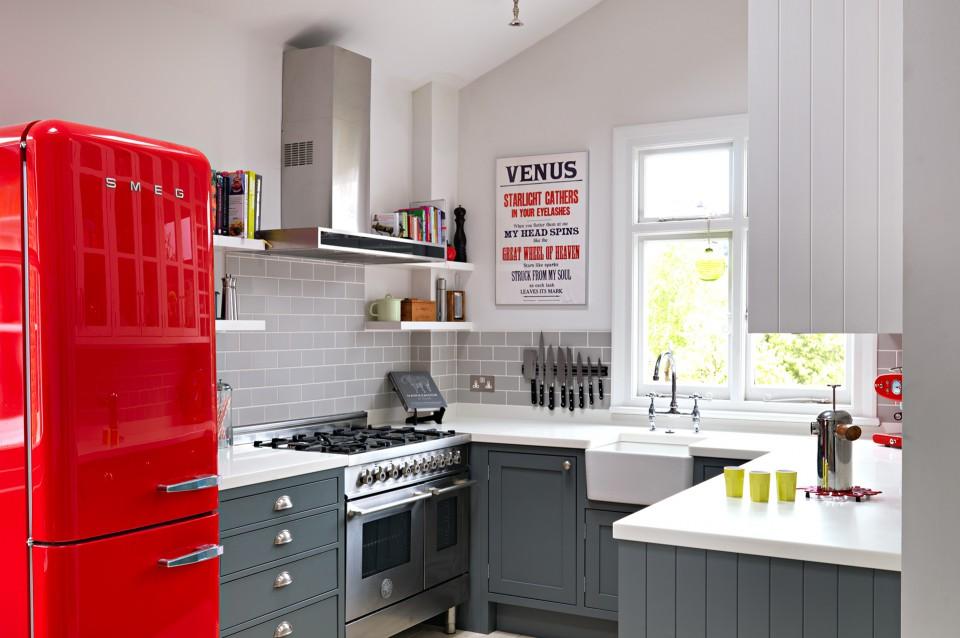 Desain Dapur Kecil yang Efisien dan Cantik Untuk Rumah Mungilmu