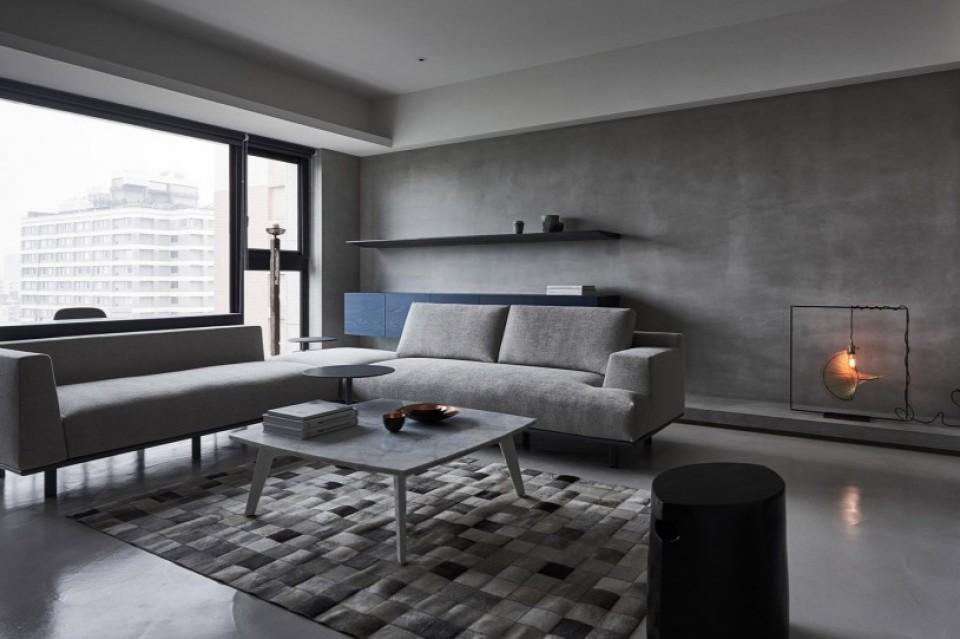 Shades Of Grey Apartemen Hunian Dengan Nuansa Warna Abu Abu Di