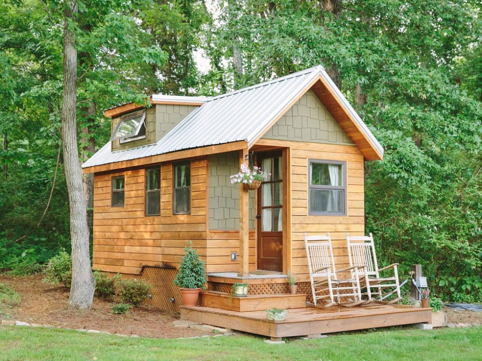5 Rumah Mini Unik Yang Terlihat Kecil Di Luar Namun Ternyata Menakjubkan Dalamnya