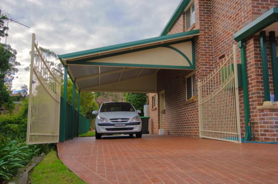 Berbagai Macam Desain Carport Yang Membuat Kendaraan Anda Terlindungi Dan Tersimpan Dengan Penuh Gaya Furnizing