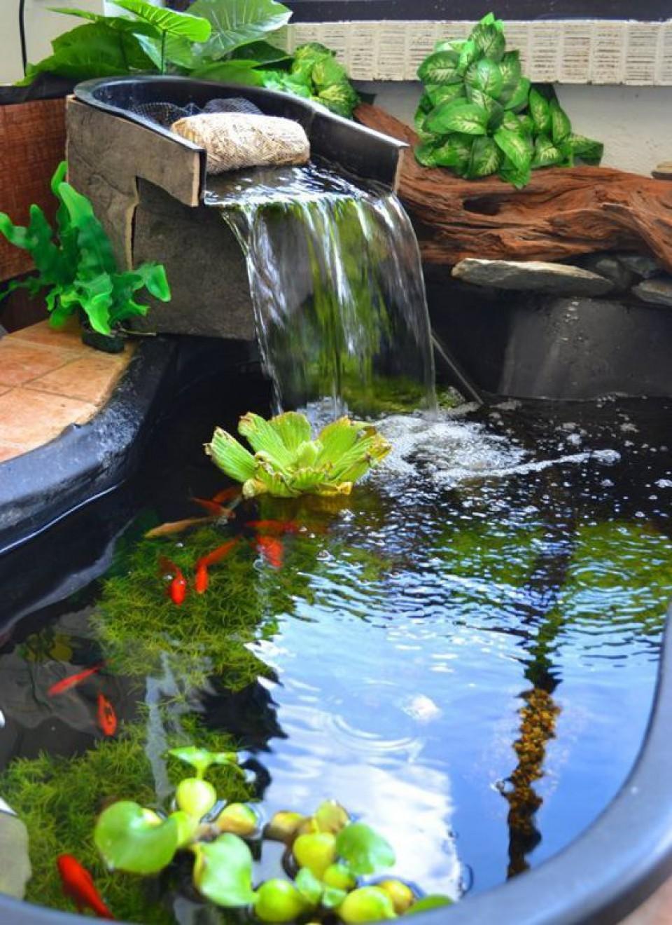 Ingin Rumah Lebih Segar Dan Menarik Dengan Fitur Air Di