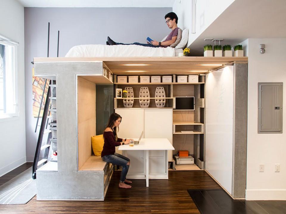 Ide Desain Interior Minimalis Untuk Apartemen Studio Yang Bikin Ruang Jadi Lebih Stylish Dan Fungsional Furnizing