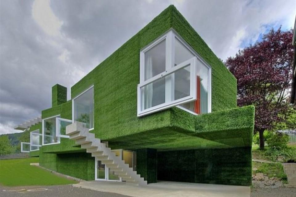 10 Bangunan Rumah Huni Dengan Bentuk Dan Fasad Unik Furnizing