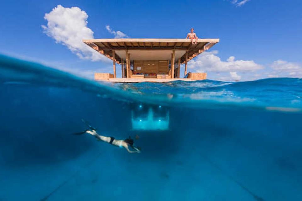 Berbagai Bangunan Dengan Pemandangan Bawah Laut Yang Memukau Furnizing