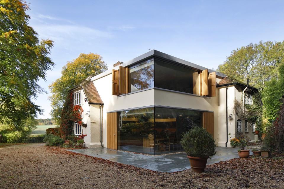 Dua Style Desain Satu Rumah Unik Keren Furnizing Bagian Gaya
