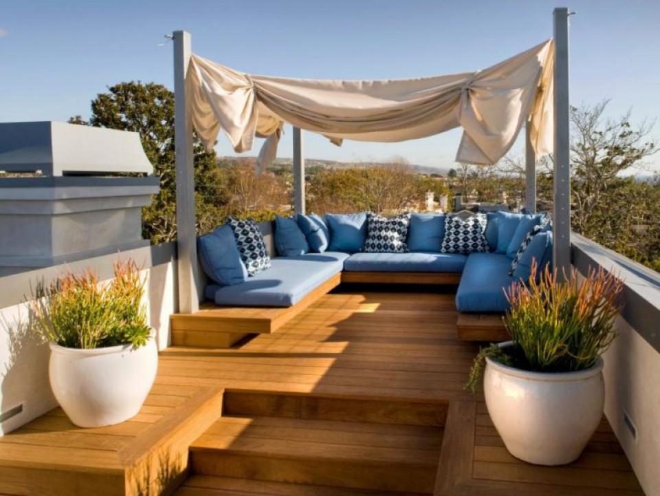 Desain Area Rooftop Yang Bikin Rumah Jadi Punya Ruang Outdoor Seru Dan  Bermanfaat - Furnizing
