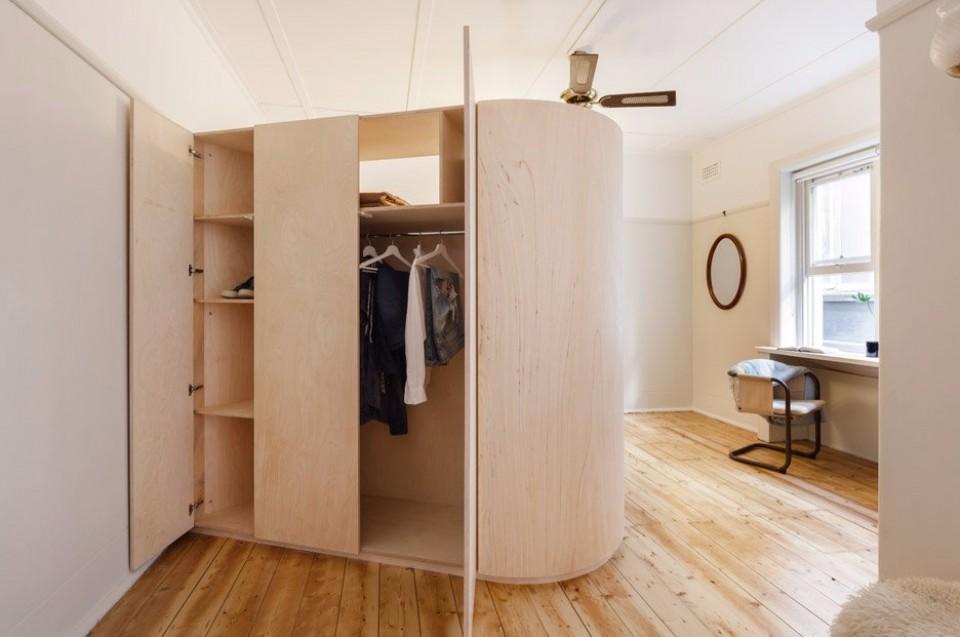 Smart Furniture Di Apartemen Berukuran 36 Meter Persegi Yang